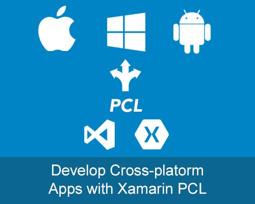 PCL xamarin cross platform HMI SCADA .NET