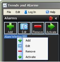 Alarm Navigator Bar 494