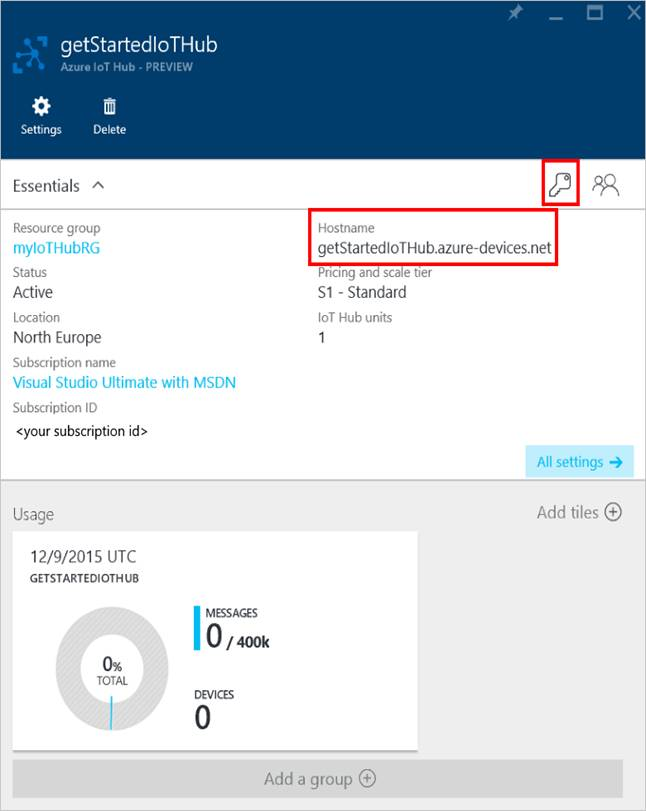 Azure IoT Data Hub_111