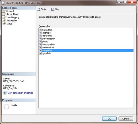 Database Security Login 4