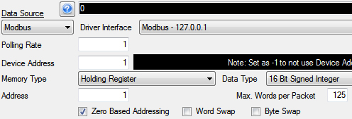 Getting Started Modbus 12