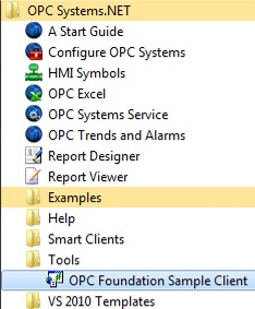 OPC Foundation Sample Client 501