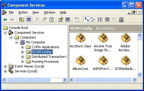 OPC Server Identity 543