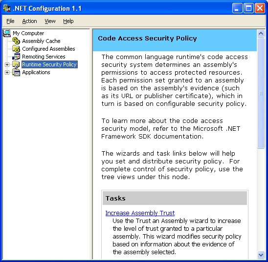 Smart Client with .NET Framework 1.1 465
