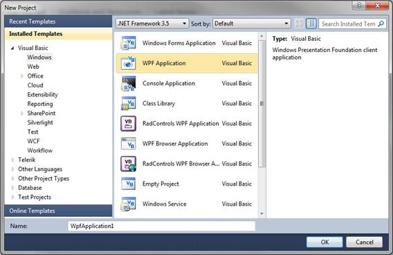 Getting Started – WPF Visual Studio | Industrial Internet of