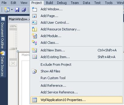 WPF Visual Studio 247