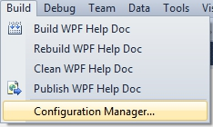 WPF Visual Studio 261